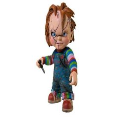 Coming Soon! Child's Play Cinema of Fear Stylized Chucky Roto Action Figure | ToyZoo.com