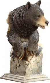 """""""Handful"""" Black Bear Sculpture"""