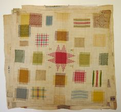 Fries Museum stoplap darning sampler 4