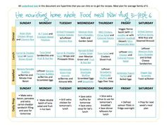 Have you had a chance to try our bi-weekly whole food meal plan?? We have tons of delicious recipes all planned out for you, along with shopping lists and prep day charts and the best part...it is FREE for the community here at The Better Mom!! #mealplan #wholefood