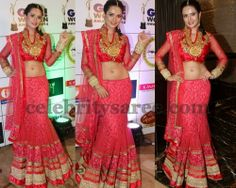 Preeti Rana Designer Lehenga | Saree Blouse Patterns