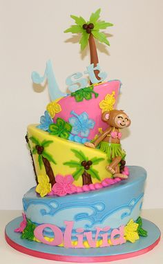 Luau Topsy Turvy by its-a-piece-of-cake, via Flickr