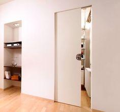 die besten 25 schiebet r einbauen ideen auf pinterest einbauschrank dachschr ge schiebet r. Black Bedroom Furniture Sets. Home Design Ideas