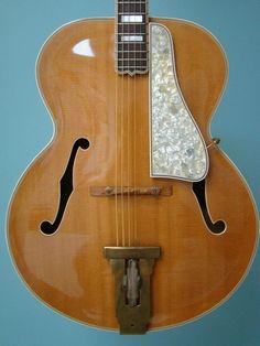 1948 Gibson L 5N Natural Vintage Guitar D'Angelico Stromberg Jazz Guitar