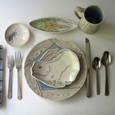Ceramics by EarlyBirdDesignsShop on Etsy • So... |