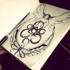 Coheed Drawing.