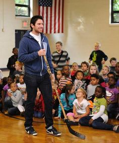James Neal want to come to my school?