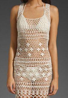 anna kosturova crochet dress - Pesquisa Google