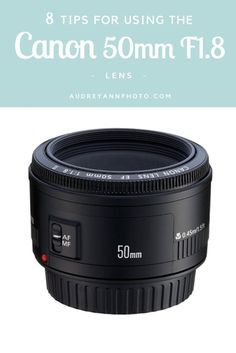 Today I'm going to share some tips for using the Canon 50mm F1.8 lens. I  know that many of you will have this lens, because it's probably the one  that most people go for when upgrading from their kit lens. When I first  got this lens a few years ago, I would hear about the quality of it for the  price and how tack-sharp my images were going to be, but they weren't, in  fact every single one looked downright soft! So the lens got shoved back  into my camera bag and forgotten about. But not…