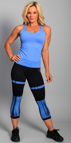Sky Blue Tie Dye - only smalls left! ♥ #fitness #fashion #activewear
