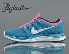 size 40 e072f bf8d8 Where To Buy Youth Big Boys Nike Flyknit Neo Turquoise White Squadron Blue  Pink Flash 554887 414