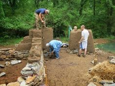 Learn How to Build a Cob House - Cob Workshops - Natural Building Workshops - YouTube
