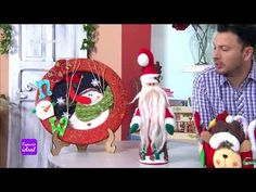 Espazio Ideal 3 de Noviembre 2017 - YouTube Foam Crafts, Diy And Crafts, Christmas Crafts, Christmas Ideas, Ronald Mcdonald, Snowman, Santa, Cute, Youtube