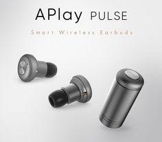 APlay PULSE Smart Wireless Earbuds by Nain Inc. — Kickstarter