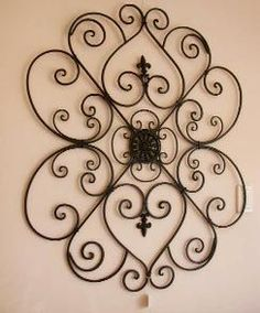 Exceptional Listed Here Are The Beautiful Wrought Iron Wall Decor And Items For Wrought Iron  Wall Art. Bring Home The Life With Wrought Iron Wall Decoration Like Scones  ...