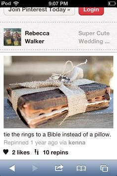 bible for rings