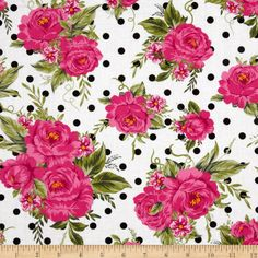 $9.20/yard. Timeless Treasures Roses White on FABRIC.COM - Only 11 in stock as of 2014.05.27