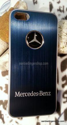 Mercedes donker blauw