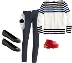 """Cruise OOTD 2.17.13"" by nattyk ❤ liked on Polyvore"