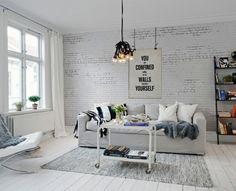 Pareti Con Foto In Bianco E Nero : Best parete images in trendy tree
