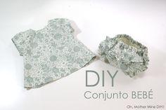 Ideas diy coser vestido bebe coser bebe bebe vestido bebe como hacer vestido bebe patron vestido bebe costura.. Video tutorial: Vestido para...