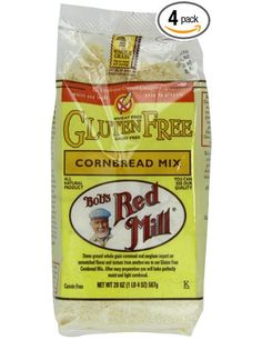 Bob's Red Mill Gluten-Free Cornbread Mix, 20-Ounce Units (Pack of 4): Amazon.com: Grocery & Gourmet Food