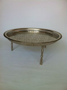 Moroccan-Alpaca-Silver-Serving-tray-table-with-screw-on-legs-from-Fez