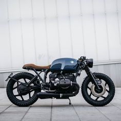 A very sleek customized BMW R80 from Spain's ROA Motorcycles.