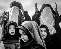 Universal Ashura Mourning Ceremony. Day of Ashura stock photo