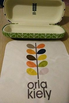 Genuine Orla Kiely Glasses Case NEW | eBay