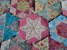 Candied Hexagon Quilt | Patchworkmaniac's Blog