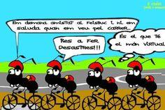 """Acudit a """"Cap Vermell"""" / Chiste en """"Cap Vermell""""  (Montserrat)"""