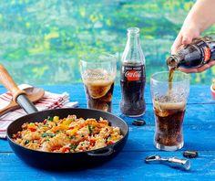 Γρήγορο πιλάφι με γαρίδες Food Categories, Paella, Dinner, Ethnic Recipes, Drink, Dining, Beverage, Dinners, Drinking