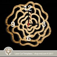 Laser cut wall clock / coaster templates, buy online now, free vector designs every day. Clock Template, Scroll Saw Patterns, Coaster Set, Vector Design, Laser Cutting, Free Design, Vector Free, Templates, Wood