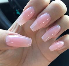 Nail Polish Gel Natural Nail Art Design Ideas For Summe.- Nail Polish Gel Natural Nail Art Design Ideas For Summer Winter Fall Spring Nail - Pink Gel Nails, Nude Nails, Stiletto Nails, Matte Nails, Gradient Nails, Holographic Nails, Matte Pink, Pink Clear Nails, Ombre Nail
