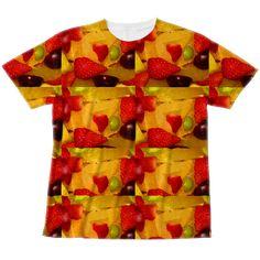 Miracke Happy Bare ( masaru21 ) の【果物フルグラフィックTシャツ向け】フルグラフィックTシャツ ∞ SUZURI(スズリ)