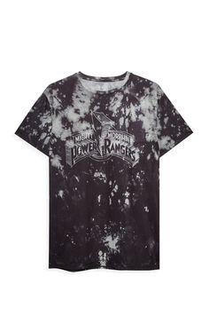 f9eaecbb880a Black Power Ranger T-shirt