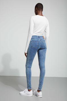 Body Hyman Blue Jeans - Blue - Jeans - Weekday NL