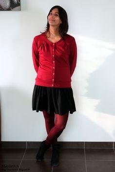 Maxi Stitch: Jenna Cardi Stitch, Boss, Full Stop, Stitches, Sew, Costura, Embroidery, Sewing