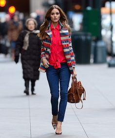 Olivia Palermo in Manhattan. - THE OLIVIA PALERMO LOOKBOOK