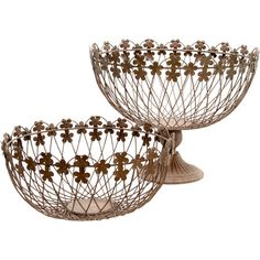 I pinned this 2 Piece Petals Basket Set from the Import Collection event at Joss and Main!