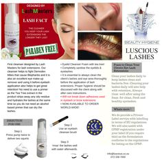 Long Lashes, Eyelashes, Brow Extensions, For Lash, Cleanser, Brows, Beauty, Lashes, Eyebrows