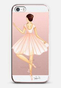 Ballerina iPhone 6s case by the pretty pink studio | Casetify
