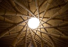 Ibuku Bamboo Architecture and Design Spectacular bamboo architecture.