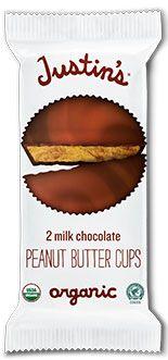 Justin's Organic Milk Chocolate Peanut Butter Cup
