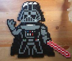 Darth Vader hama perler beads by Sonja Ahacarne
