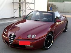 Eugene's Alfa Spider 2.0 is shining after the 3 hour-long thorough cleaning!