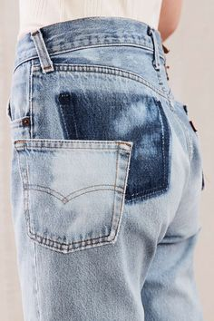 Urban Renewal Remade Pocket Shift Jean - Urban Outfitters