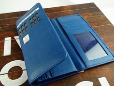 Doctor Who Tardis 2.0 Handmade (45.00 USD) by RealLeatherWallets
