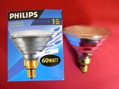 Philips Reflektor Strahler Spot PAR38 FLOOD 60 W Watt  60W E27 30°